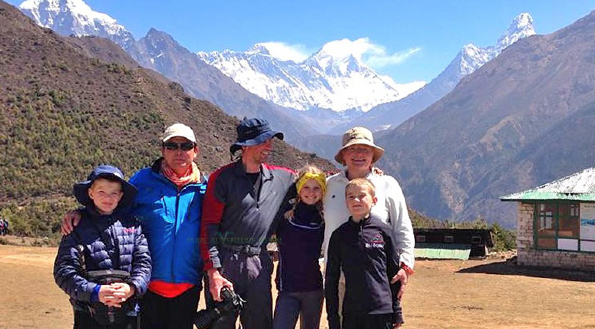 Family Trekking and Tour